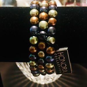 Honora Cultured Freshwater Pearl S/3 Bracelets